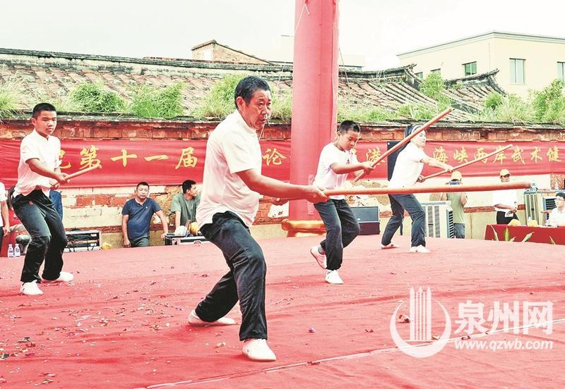 两岸武术表演现场 (林弘梫 摄)