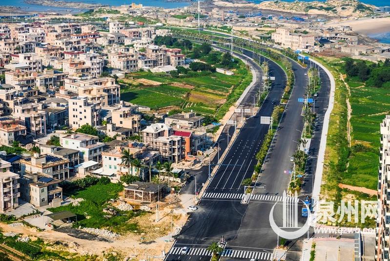 贯穿石狮永宁东部 向海延伸的红塔湾旅游公路通车